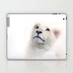White Lion Cub Laptop & iPad Skin
