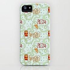 PIZZA & FRIES iPhone (5, 5s) Slim Case