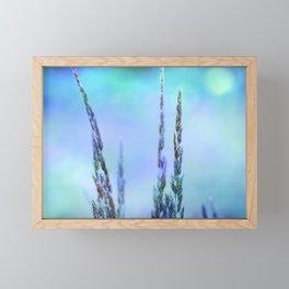 SOFT AND GENTLE :) Framed Mini Art Print