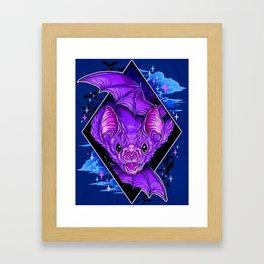 Bat Wings Framed Art Print