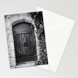 Doors of the World | Wooden Door in France, Europe | Black & White | Travel Photography | Photo Print | Art Print Stationery Cards