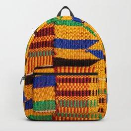 Genuine Ghanaian Kente Backpack