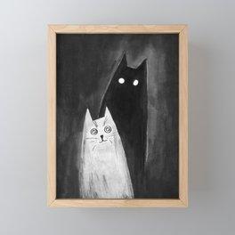 we call him Shadow Framed Mini Art Print