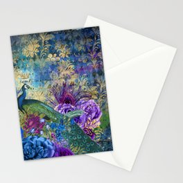 The Royal Peacock Stationery Cards