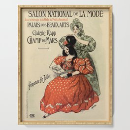 1896 National Fashion salon Paris Serving Tray