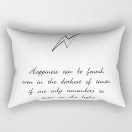 you can find happiness Rectangular Pillow