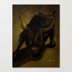 The Bull Canvas Print