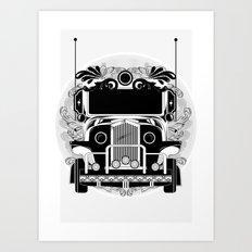 jeep ni erap Art Print