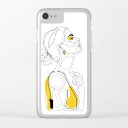 Color Beauty Clear iPhone Case