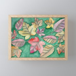 Fall Leaves Fall Framed Mini Art Print