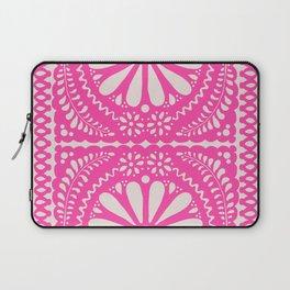 Fiesta de Flores Pink Laptop Sleeve