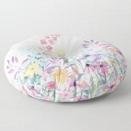 Sweet Spring Meadow Floor Pillow