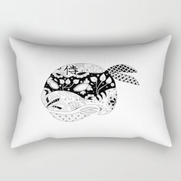 TMNT Leonardo B&W Rectangular Pillow