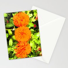 Pop Art Flowers Stationery Cards