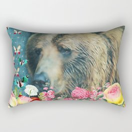 Summer Garden 3 Rectangular Pillow