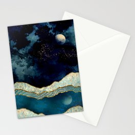 Indigo Sky Stationery Cards