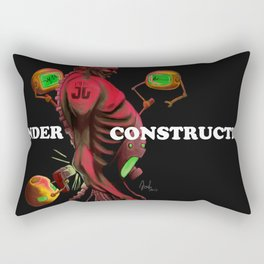 Under Construction Rectangular Pillow