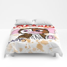 GIZMO - GREMLINS ILLUSTRATION  Comforters
