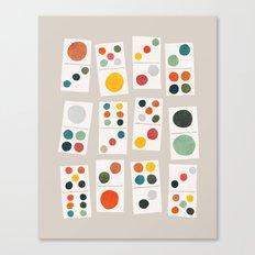 Domino Canvas Print