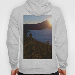 Sunset Canary Islands forest and Volcano Teide in Tenerife Hoody