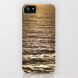 Sun ray on the sea iPhone Case