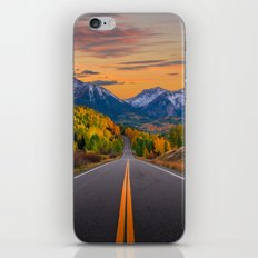 The Road To Telluride iPhone & iPod Skin