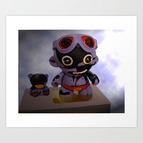 """Superheroes SF"" Art Print"