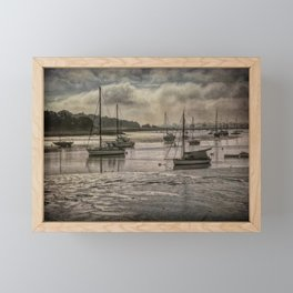 The River Deben at Woodbridge Framed Mini Art Print