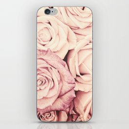 Some people grumble I Floral rose roses flowers pink iPhone Skin