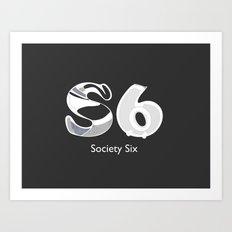 S6 Art Supplies Art Print