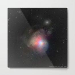 1686. Arp 299: Black Holes in Colliding Galaxies  Metal Print
