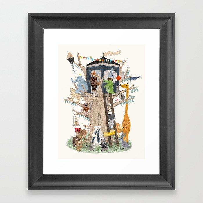 little playhouse Gerahmter Kunstdruck