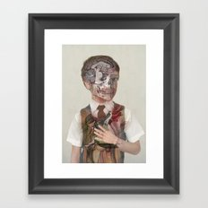 Brain Child  Framed Art Print