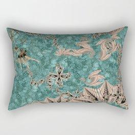 Synchro Fractals Rectangular Pillow