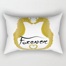 Love Horse Fish Forever Rectangular Pillow