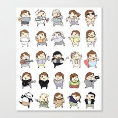 Jacks Canvas Print