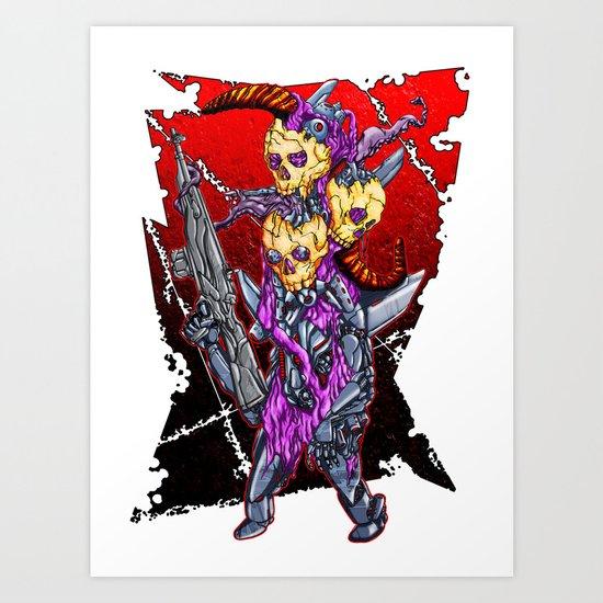 METAL MUTANT 2 Art Print