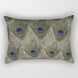 Peacock tail Rectangular Pillow