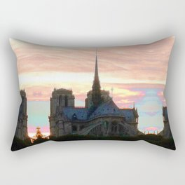 Notre Dame de Paris Rectangular Pillow