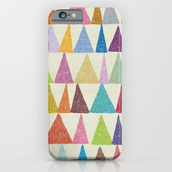 Analogous Shapes In Bloom. iPhone & iPod Case