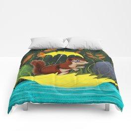 Chipmunk's Amazing Rainy Day Adventure Comforters