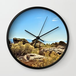 The Great Salt Lake Wall Clock