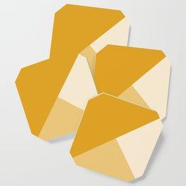 Mustard Tones Coaster