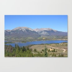 Dillon Reservoir Canvas Print