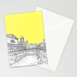 City Of Bath (Illuminating Yellow Version) Stationery Cards