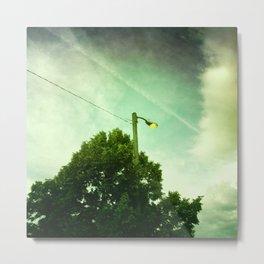 Street lamp Metal Print