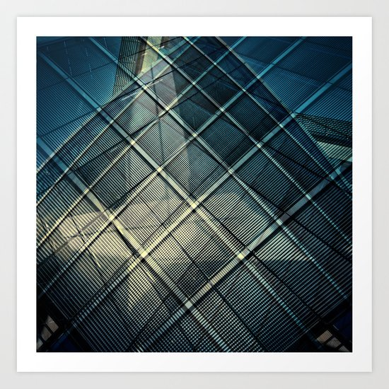 abstract architecture 2 Art Print