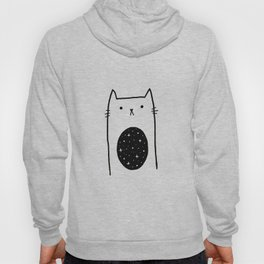 Galaxy Kitty Hoody