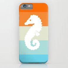 Out At Sea Series - Seahorse Sunset iPhone 6s Slim Case