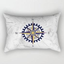 Ice Compass Rectangular Pillow